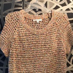 Sorbet sweater open crochet